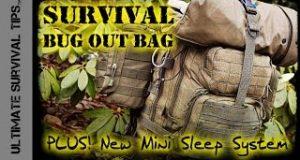 NEW-Survival-Bug-Out-Bag-BASIC-22-lb-10-kg-Experimental-3-Season-Mini-Sleep-System-Best