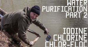 Water-Purification-Part-2-IODINE-CHLORINE-CHLORFLOC-Survival-Training-Tactical-Rifleman